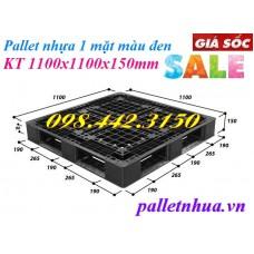 Pallet nhựa 1100x1100x150mm