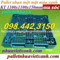 Pallet nhựa 1100x1100x150mm PL111115XN