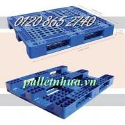 Pallet nhựa lõi sắt PL466-LS