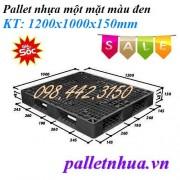 Pallet nhựa đen PL121010Đ