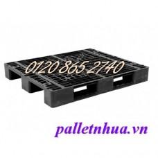 Pallet nhựa đen PL704D