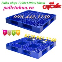 Pallet nhựa 1200x1200x150mm