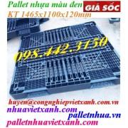 Pallet nhựa đen 1465x1100x120mm