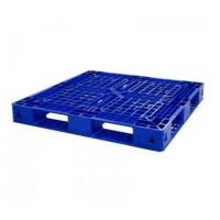Plastic pallet blue- 1100x1100x125mm