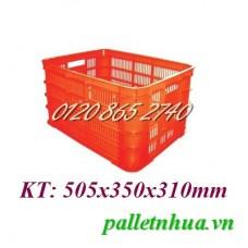 Thùng nhựa HS012
