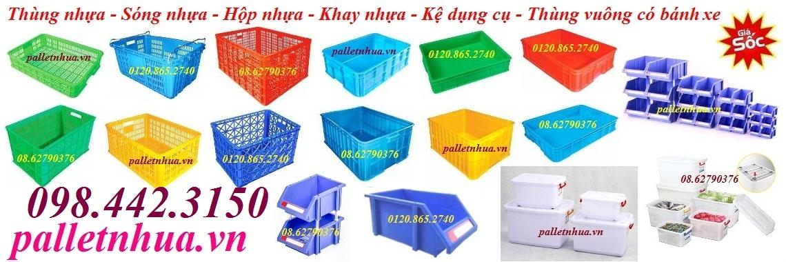 Thùng nhựa công nghiệp
