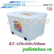 Thùng nhựa trong T72