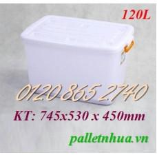 Thùng nhựa T120L