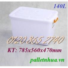 Thùng nhựa T140L