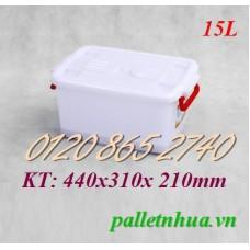 Thùng nhựa T15L