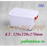 Thùng nhựa T30L