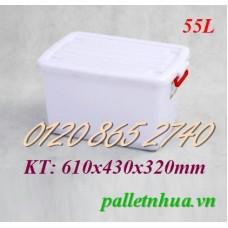 Thùng nhựa T55L