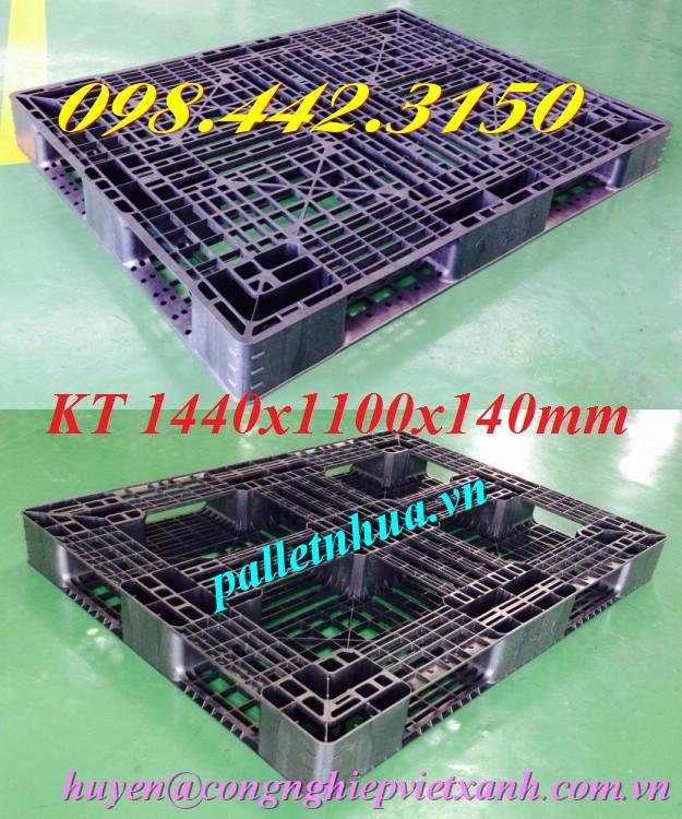 Pallet nhựa 1440x1100x140mm