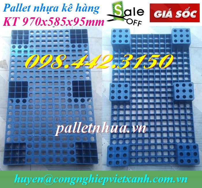 Pallet nhựa kê hàng